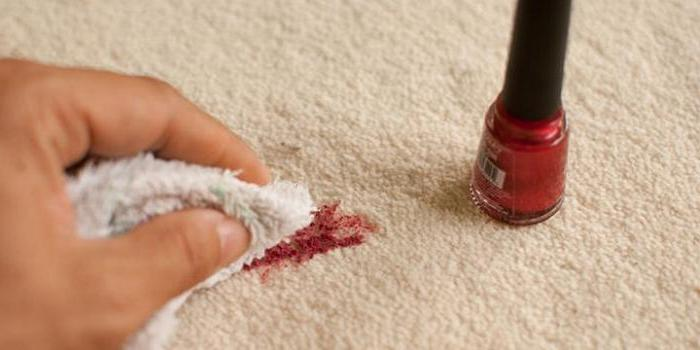 How to remove nail polish from clothes