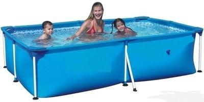 Rectangular frame pool: advantages and features of choice