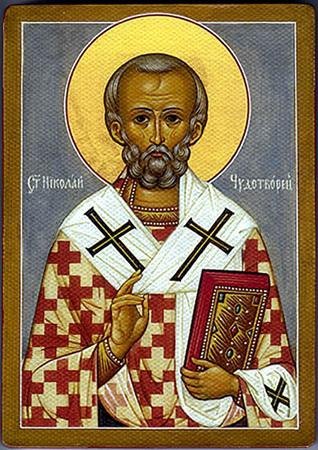 Icon of St. Nicholas. Icon of St. Nicholas (The Savior): meaning