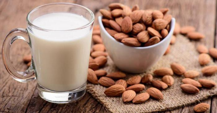 almond milk benefits and harm to the body