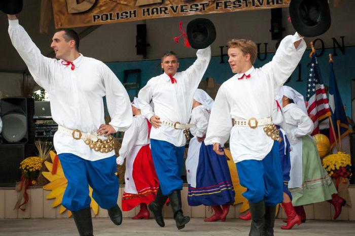 Folk Polish dance: name, description, history and traditions