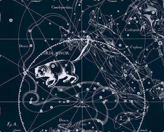 how to find the constellation of the small bear