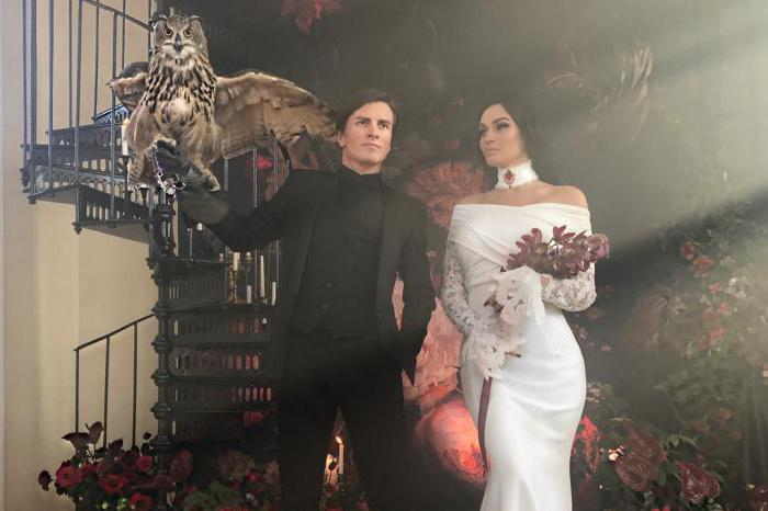 Wedding of Alena Vodonaeva and Cosinus