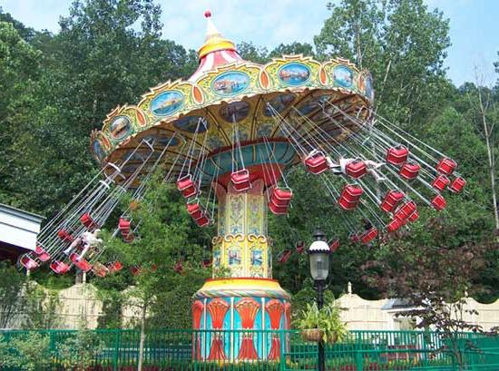 What can the VDNH offer us? Amusement park!
