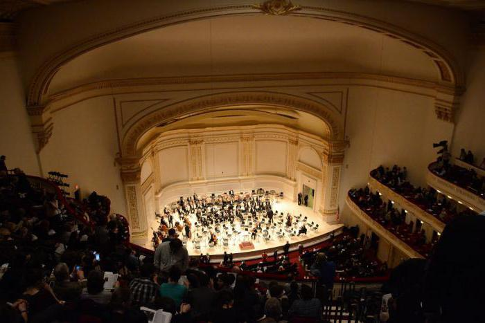 Concert Hall Carnegie Hall in New York: photo how to get