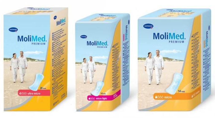 women's molimed pads